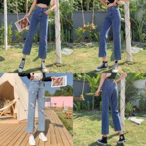 Nxo Jeans Cintura Jeans Mujeres Pantalones Spring Ladies Jeans Pantalones Lady High Den Casual Pantalon Femme Streetwear Vintage Flow Harem