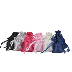 Solid Color Bag Clothing Packing Bracelet Pouch Candy String Storage Decoration Woman Man Package Gift Easter PPD4211