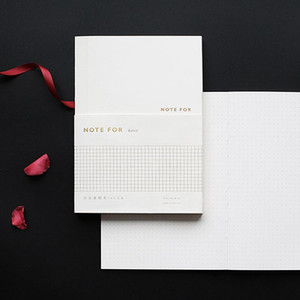 Dotted Notebook Dot Grid Journal White Gold Basic Travel Planner Diary