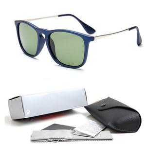 2018 أعلى جودة النظارات الشمسية موضة جديدة للعدسات رجل امرأة اريكا نظارات مصمم العلامة التجارية نظارات شمسية مات ليوبارد التدرج حالات صندوق