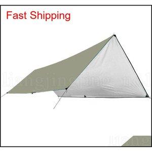Waterproof Camping Mat 3*4m Mattress Outdoor Tent Cloth Multifunction Awning Tarps Canopy Picnic Mat Gr qylcrg bdesports