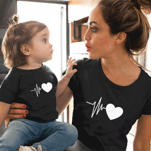 Family Tshirts Girls Boys Mom Mother Mommy and Daughter Son Family T-shirt Family Look Matching T-shirt Mom Mommy and Me Clothes