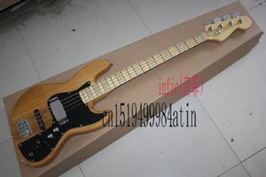 2019 Free shipping jazz bass guitar 4 strings jazz Electric bass guitar with Vintage Active pickups in stock