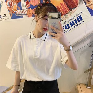 Women Fashion 100% Cotton TShirt Short Sleeve Solid Loose Tops Tees Dames tshirts Hot Sales Shirts Plus Size1