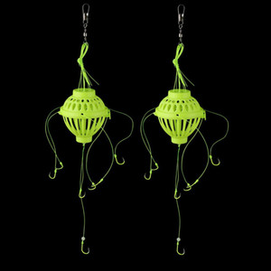 (1) lamp explosion hook fishing hook assembly outdoor safety equipment for catching carp