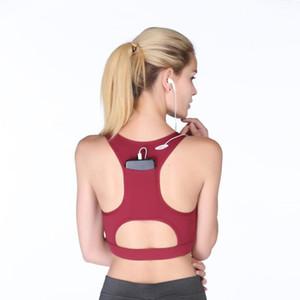 2020 Teléfono móvil portátil de alta gama Pollo de bolsillo deportivo Ropa interior Yoga Running A prueba de golpes PROFESIONES PROFESIONES SPORTS BRA1