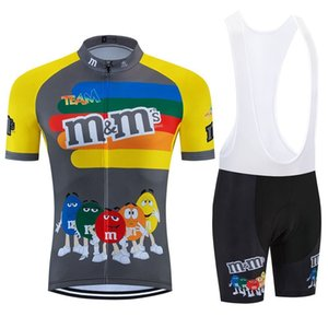 2020 Funny Team Cycling Jersey Bib Short 9d Set Mtb Bike Clothing Ropa Ciclismo Bike Wear Clothes Mens Maillot Culotte