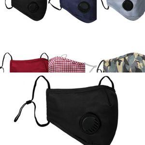 Masque anti-poussière PM2.5 Visage Face Anti-L Mouth designer ER Lavable Réutilisable Silk CO 6QQS 9A3B