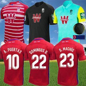 Гранада футбольные трикотажки 2020 21 Vadillo Soldado A.PUERTAS F.VICO HERRERA DOMINGOS D. D.MACHIS C.FERNANDEZ футбольная футболка