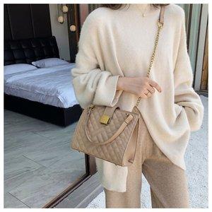 Xiaoxiangfeng main Lingge handShoulder main chaîne nouvelle grande capacité mode de la mode des femmes seule épaule Messenger Sac Sac fourre-tout Ccc1i Cc