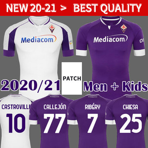 2020 2021 Fiorentina Soccer Jerseys Ribery Callejon Prince Pezzella Chiesa 20 21 Fiorentina Football Shirts Vlahovic Maillot de pied