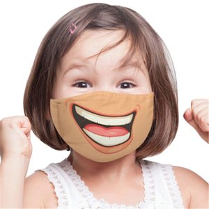 Best Selling Personalized Face Funny Adult Children Dustproof Cotton Mask Parent Child Mask Can Be Washed
