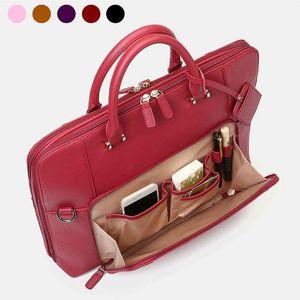 Omuz Çantaları kadın PU Deri Çanta, Iş Klasörü Laptop Çantası Crossbody Hediye Büyük Kapasiteli Çok Cep Alışveriş