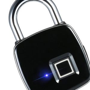 Intelligent Electronic Bluetooth impronte digitali password lucchetto Smart Home Porta App di gestione remota Cellulare Unlock