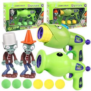 Plants vs Zombies Hand Do Air Powered Guns Fire Bullets Pea Shooter Corn Cannon Cannon Children Toy Gun Boy Gift