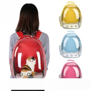 4 Colors Breathable Small Pet Carrier Bag Portable Pet Outdoor Travel Backpack Dog Cat Carrying Cage