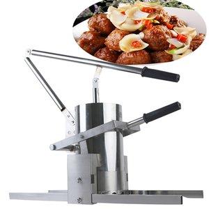 Manuel Köfte MachinewholoZale Fiyat Ev Kullanımı Manuel Domuz Köfte Yapma Makinesi Küçük El Basın Dolması Balık Topu Ekstruder