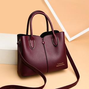 Sacs de bandoulière à la main pour femmes pour femmes 2020 Sacs à main de luxe Femmes Cuir Sac à bandoulière fourre-tout Sac de sac Femme Bolsa Feminina