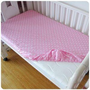 Hot Sale Cotton Baby Fitted Sheet Cartoon Crib Mattress Cover Elastic Around Kids Bed Cover 120*70*5cm Children Mattress