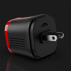 Freeshipping Wireless Wifi Camera Secret USB-Ladegerät Micro-Kamera-Sicherheitscam-Nachtsicht-Motion-Erkennung Camcorder HFD-Micro-Kamera ESPIA