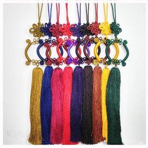 1PCs Guanyin Bassin Chinois Knot Tassel Diy Bijoux Rideau Vêtement Home Textile Accessoires Décoratifs Artisanat Pendentif H Jllnhz