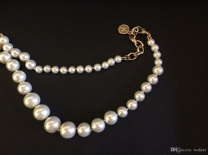 Classic style short beads necklace High quality fashion pearl necklace for women Pendant necklace for wedding jewelry