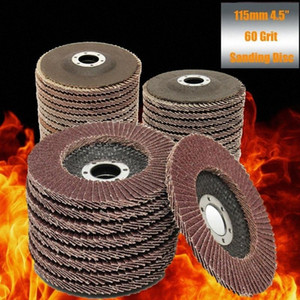 10pcs Professional Flap Discs 115mm 4.5 Sanding Discs 40 60 80 120 Grit Grinding Wheels Blades for Angle Grinder OyMd#