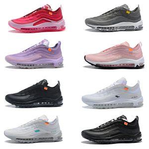 2019 Kapalı Air Max 97 Erkekler Kadınlar Williams airmax Gökkuşağı OG Kadın Tasarımcı Spor Ayakkabıları 97S Beyaz Işık Gri Kurt Menta Moda Spor Ayakkabı Koşu Ayakkabıları