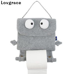 Cute Cartoon Type Tissue Box High-end Durable Wall Hanging Type Paper Tissue Holder Bedroom Dressers Car Home Toilet Decor Gift
