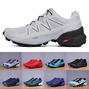 HOT Geschwindigkeit kreuzen 5 VI CS Outdoor Herren Schuhe Speedcross 5 VI Laufende Läufer Schuhe Herren Sport Sneakers chaussures zapatos Jogging scarpe