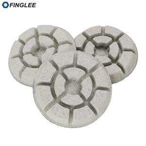 3pcs Finglee / Lot 3inch / 4inch Wet Floor Polishing Pad Buff Mat, Resin Polishing Disc Para Terrazzo Concrete mármore, granito, cerâmica