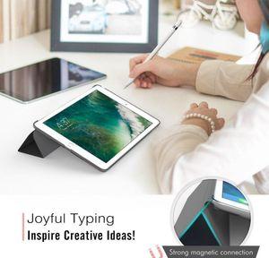 For Ipad Air 1 2 Mini 3 4 5 Pro 10.5 Inch Case Funda Ultra Thin Pu Leather Pc Hard Cover Stand Coque Case sqcyXFB