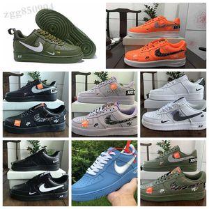 NIKE Air Force one 1 AF1 2018 Men's Shoes High quality Originals Prophere Climacool EQT 4s Quattro generazioni Clunky Scarpe sportive nere Scarpe casual scarpe da ginnastica