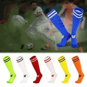 Calzini da calcio da calcio da calcio professionale per bambini adulti per adulti adulti Asciugamani addensati Sport Sport Socks Ginocchio Calzini da calcio