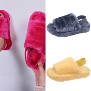 4BW3E Women Sandals Shoes Flop Slipper fashion slippers Ladies Beach Slipper Leather Slippers Non-slip Stud Casual Spikes Shoes Flip high
