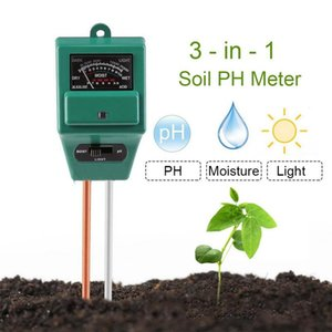 New Digital Tester 3 In1 Moisture Sunlight PH Meter Tester For Plants Flowers Acidity Moisture Measurement Garden Tool