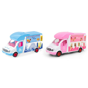 Электрический Ice Cream Bar Универсальный Dining игрушечных автомобилей Kit DIY воспитательные музыкальные проекты с лампочками Детские подарки