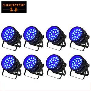 İndirim Fiyatı 8 Paketi 18x12W RGBW Profesyonel Tasarım LED Par Yakınlaştırma Par Can Sahne Işık Sessiz Çalışma Cümle Yakınlaştırma Motorlu