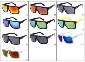 El más reciente FAME 2034 gafas de sol del deslumbramiento color de reflectores de mercurio vidrios de sol grandes del marco marco de las gafas de sol deportivas Gafas de sol para hombre