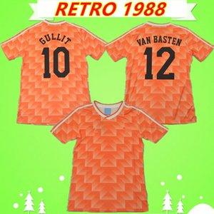 NCAA VAN BASTEN GULLIT BOSMAN KIEFT Retro 1988 Netherlands soccer jersey Vintage Holland football shirt KOEMAN VANENBURG Mühren WINTER VAN A