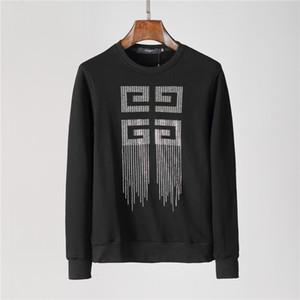2020 ABD Avrupa markası erkekler rahat spor gömlek, moda tasarımcısı% 100 pamuk hip hop erkek hoodie P # Q35