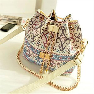 Fashion National Style Shoulder Bags Handbag Tote Purse Messenger Hobo Satchel Women Handbag Drop Shipping