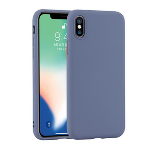 For iphone 11pro 12pro mobile phone case liquid for Iphone 8plus X Xs max XR silicone creative anti-fall soft shell