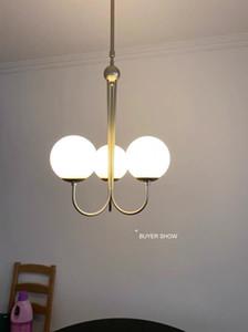 Elegant Glass Balls Chandelier Pipe Hanging Pendant Lamp Dining Room Ceiling Chandelier Lights Kitchen Restaurant Suspended Lamp