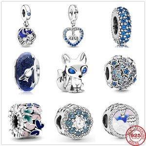 2020 New Sweet Night Starry Fox Hot Air Balloon Butterfly Bead fit Original Pandora Charms Silver 925 Bracelet DIY Women Jewelry