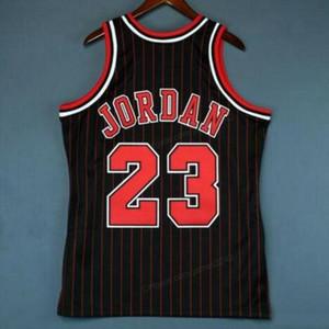 Ncaa barato costume retro # 23 michael mitchell ness faculdade basquete jersey preto costurado qualquer tamanho 2xs-3xl 4xl 5xl nome número jersey