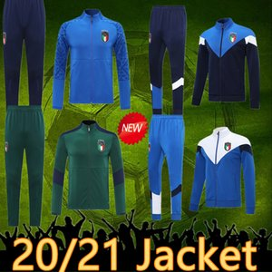 Italia eşofman futbol 2020 İtalya ceket futbol forması 19 20 İtalya spor verratti jorginho romagnoli italia kapüşonlu futbol ceket