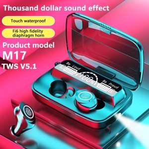 M17 TWS V5.1 Wireless Bluetooth Earphones Stereo Headphone Sports headset with digital display In-ear Earbud For All Smart Phone