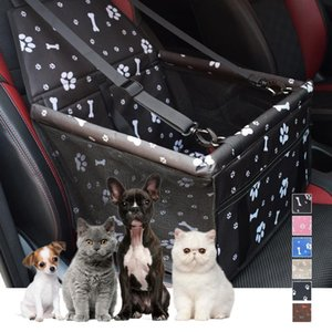 Waterproof Pet Dog Car Seat Cover Travel Dog Carrier Outdoor Safe Car Seat Basket Cat Puppy Bag Travel Mesh Hanging Bags