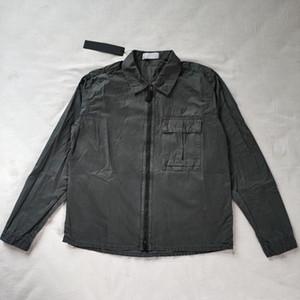 2020 del cappotto del rivestimento NUOVO 19FW 115WN overshirt VECCHIO Garment Dye TOPST0NEY giacche da uomo Donne camicia di modo all'aperto libera la nave